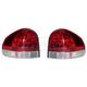 1ALTP00224-2005-06 Hyundai Santa Fe Tail Light Pair