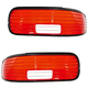 1ALTP00234-1994-96 Chevy Caprice Impala Tail Light Lens Pair