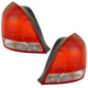 1ALTP00239-2001-03 Hyundai Elantra Tail Light Pair