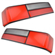 1ALTP00237-1987-93 Ford Mustang Tail Light Lens Pair