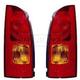 1ALTP00245-1999-00 Nissan Quest Tail Light Pair