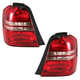 1ALTP00253-2001-03 Toyota Highlander Tail Light Pair