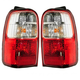 1ALTP00250-2001-02 Toyota 4Runner Tail Light Pair