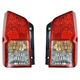 1ALTP00256-2005-12 Nissan Pathfinder Tail Light Pair