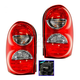 1ALTP00262-Jeep Liberty Tail Light Pair