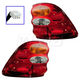 1ALTP00260-2001-04 Toyota Sequoia Tail Light Pair