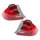1ALTP00166-2002-03 Honda Civic Tail Light Pair