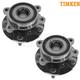 TKSHS00265-Scion tC Toyota Rav4 Wheel Bearing & Hub Assembly Front Pair
