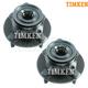 TKSHS00263-Nissan Versa Wheel Bearing & Hub Assembly Front Pair