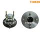 TKSHS00258-Wheel Bearing & Hub Assembly Rear Pair Timken HA590067