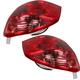 1ALTP00183-Toyota Matrix Tail Light Pair