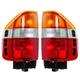 1ALTP00173-1998-02 Honda Passport Tail Light Pair