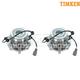 TKSHS00255-Wheel Bearing & Hub Assembly Front Pair Timken SP450702