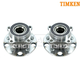 TKSHS00250-Lexus Wheel Bearing & Hub Assembly Rear Pair Timken HA590136