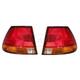 1ALTP00193-1996-99 Saturn SL Sedan Tail Light Pair