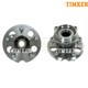 TKSHS00288-2001-05 Toyota Rav4 Wheel Bearing & Hub Assembly Rear Pair  Timken HA594505