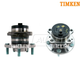 TKSHS00286-2007-14 Mazda CX-9 Wheel Bearing & Hub Assembly Rear Pair Timken HA590041