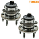 TKSHS00285-2009-10 Ford Edge Lincoln MKX Wheel Bearing & Hub Assembly Rear Pair Timken HA590335