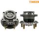 TKSHS00276-Mitsubishi Endeavor Wheel Bearing & Hub Assembly Rear Pair  Timken HA590143