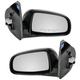 1AMRP00776-Chevy Aveo Pontiac Wave Mirror Pair