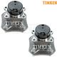 TKSHS00295-Nissan Versa Wheel Bearing & Hub Assembly Rear Pair  Timken 512386