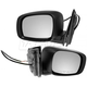 1AMRP00787-2008-10 Mirror Pair Black