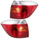 1ALTP00367-2008-10 Toyota Highlander Tail Light Pair