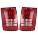 1ALTP00369-2008-10 Chrysler Town & Country Tail Light Pair