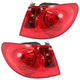 1ALTP00360-2007-10 Hyundai Elantra Tail Light Pair