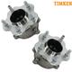 TKSHS00297-Wheel Bearing & Hub Assembly Rear Pair