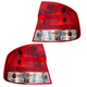 1ALTP00338-Chevy Aveo Pontiac Wave Tail Light Pair
