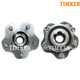 TKSHS00299-2009-13 Nissan Murano Wheel Bearing & Hub Assembly Rear Pair  Timken HA590238