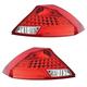 1ALTP00343-2006-07 Honda Accord Tail Light Pair