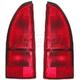 1ALTP00306-1993-95 Nissan Quest Tail Light Pair