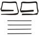 1AWSS00121-Window Sweep & Run Channel Weatherstrip Seal Set