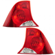1ALTP00312-2000-04 Ford Focus Tail Light Pair