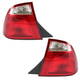1ALTP00315-2005-07 Ford Focus Tail Light Pair