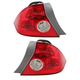 1ALTP00321-2004-05 Honda Civic Tail Light Pair