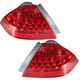 1ALTP00322-2006-07 Honda Accord Tail Light Pair