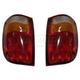 1ALTP00283-2001-09 Mazda Tail Light Pair