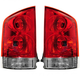 1ALTP00282-Nissan Armada Tail Light Pair