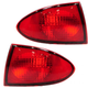 1ALTP00272-2000-02 Chevy Cavalier Tail Light Pair