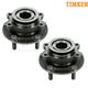 TKSHS00594-Nissan Rogue Sentra Wheel Bearing & Hub Assembly Front Pair  Timken HA590278