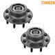 TKSHS00591-2000-02 Dodge Wheel Bearing & Hub Assembly Front Pair