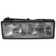 1ALHL00231-1987-90 Chevy Caprice Headlight