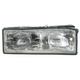 1ALHL00232-1987-90 Chevy Caprice Headlight Passenger Side