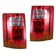 1ALTP00471-2008-10 Dodge Grand Caravan Tail Light Pair