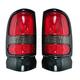 1ALTP00476-1999-01 Dodge Ram 1500 Truck Tail Light Pair