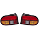 1ALTP00482-1994-96 Ford Aspire Tail Light Pair