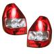 1ALTP00498-2007-08 Honda FIT Tail Light Pair